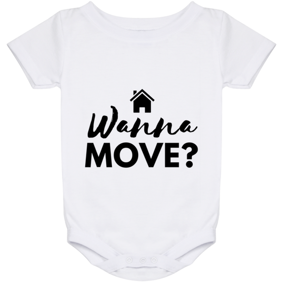 Wanna Move Baby Onesie 24 Month