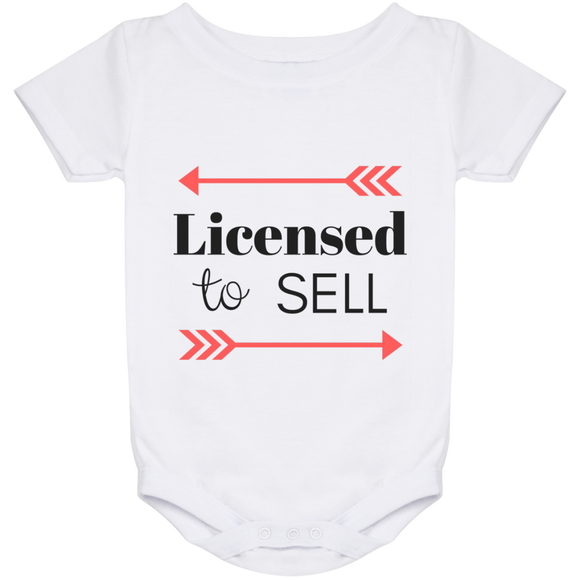 Licensed to Sell Baby Onesie 24 Month
