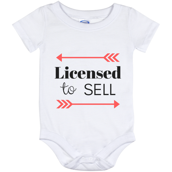 Licensed to Sell Baby Onesie 12 Month