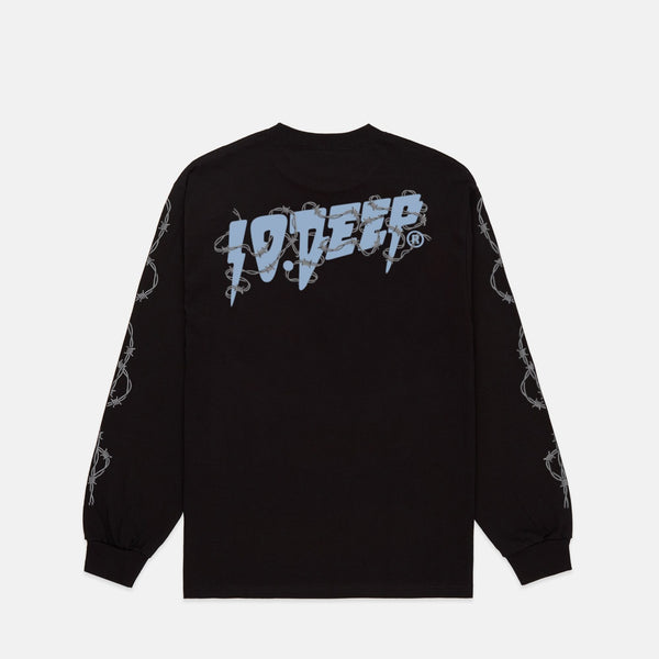 BARBED WIRE L/S TEE
