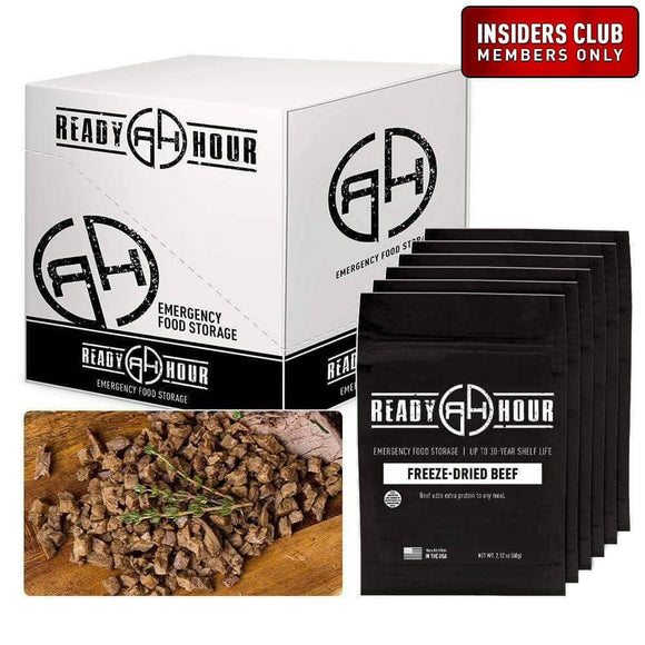 Freeze-Dried Beef Case Pack (24 servings, 6 pk.) - My Patriot Supply