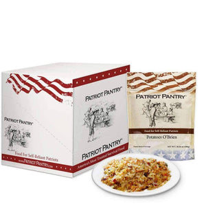 Potatoes O'Brien Case Pack (48 servings, 6 pk.) - My Patriot Supply