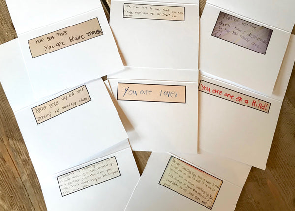 New! Notes of Encouragement Notecards