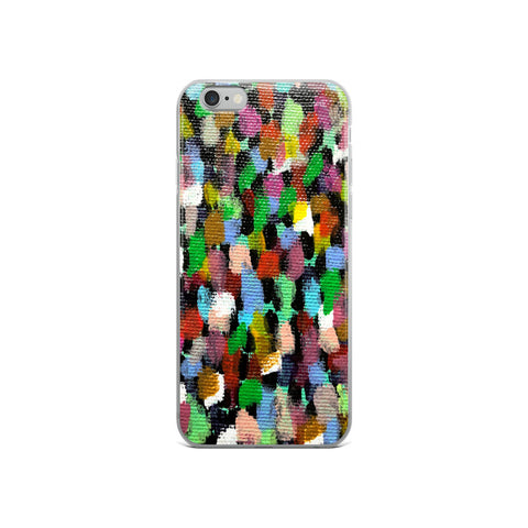 """Crowded""- iPhone Case"