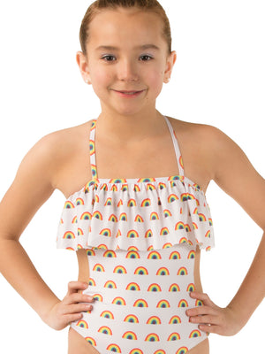 Rainbow One Piece Cut Out - Youth