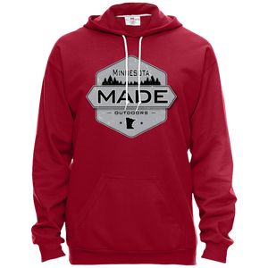 Minnesota Made - Shield - Pullover Hooded Fleece