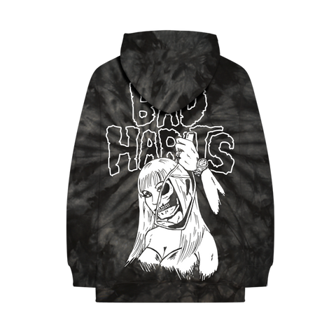 BAD HABITS TIE DYE PULLOVER HOODIE + DIGITAL ALBUM