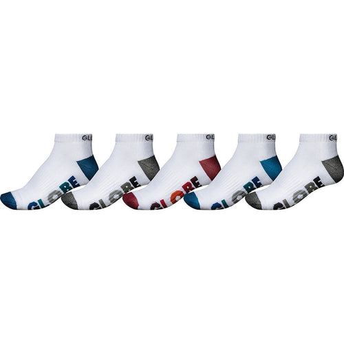 Globe MULTI STRIPE ANKLE SOCK 5PK