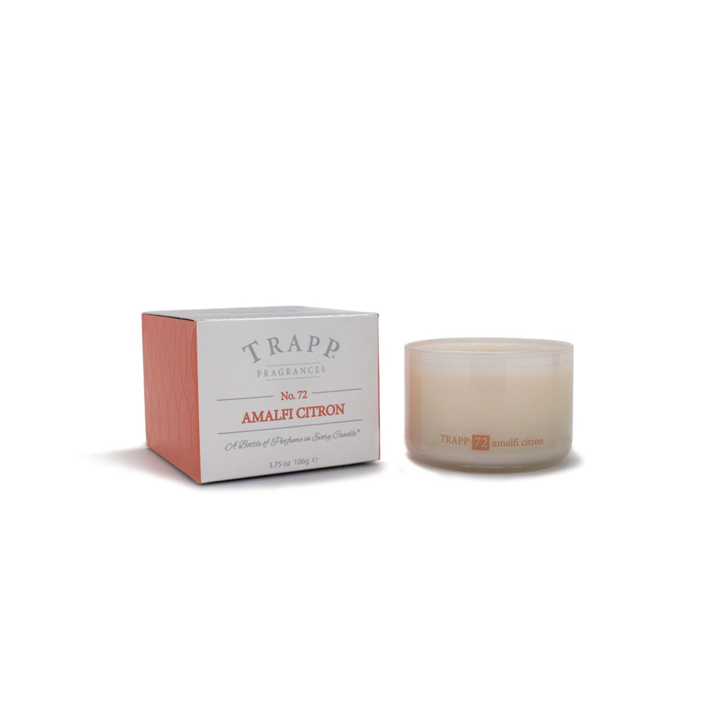 Ambiance Collection - No. 72 Amalfi Citron - 3.75 oz. Poured Candle
