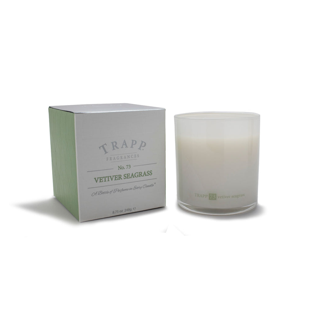 Ambiance Collection - No. 73 Vetiver Seagrass - 8.75 oz. Poured Candle