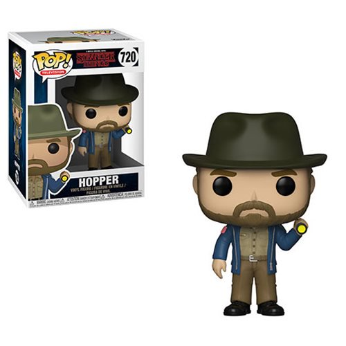 Stranger Things Hopper with Flashlight