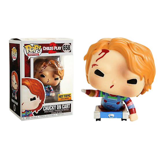 Child's Play 2 Chucky on Cart Exclusive