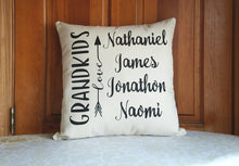 Grandkids Pillow for Grandparents