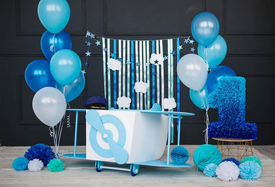 Happy Birthday For One Year Old Backdrop  G-1130