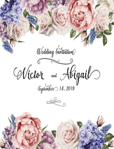 Custom Wedding Flower Backdrop For Photography - Shop Backdrop