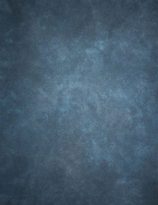 Printed Blue Texture Old Master Photography Backdrop J-0679