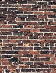 Senior Red And Black Brick Wall Texture Photo Backdrop - Shop Backdrop