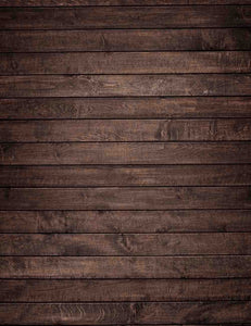 Sepia Color Narrow Wood  Floor Mat Photography Backdrop