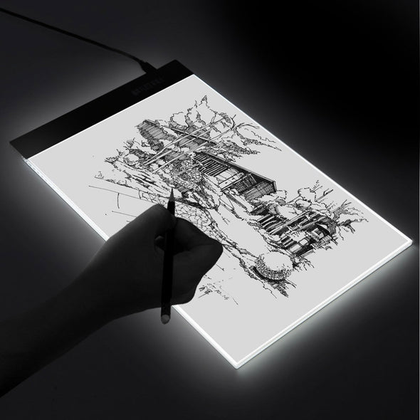 LED Artist Drawing Tablet-cartoons animation tattoo graphic design anime architect sketching tracing back lit screen-The Exceptional Store