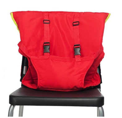Anywhere High Chair-Red 5 point harness-The Exceptional Store