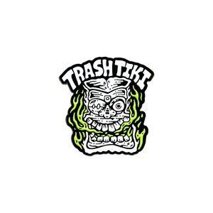 Trash Tiki Pin