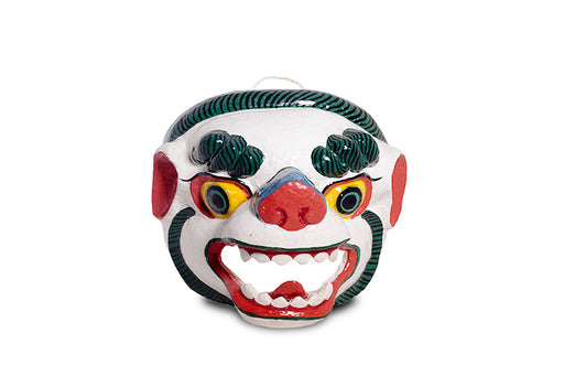 the snow lion mask from Bhutan