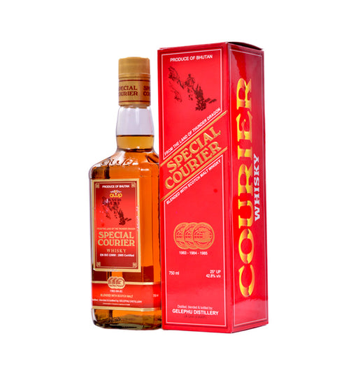 Special Courier Whisky Alcohol