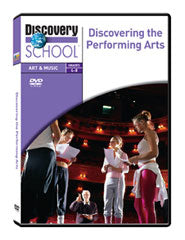 Discovering the Performing Arts DVD