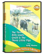 Rabbit Ears Storybook Collection: The Three Billy Goats Gruff  and  The Three Little Pigs DVD