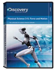 The Language of Science: (Spanish) Physical Science 3-5: Force and    Motion DVD