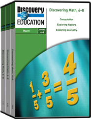 Discovering Math 6-8 DVD