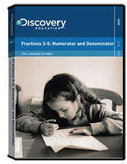 The Language of Math : Fractions 3-5: Numerator and Denominator DVD