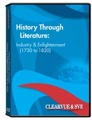 History through Literature: Industry  and  Enlightenment (1730 to 1820) DVD