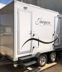 Luxury Twin Portable Toilets