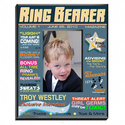 Ring Bearer Magazine Frame