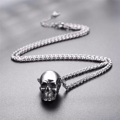 Gothic Skull Necklace-Limited Offer