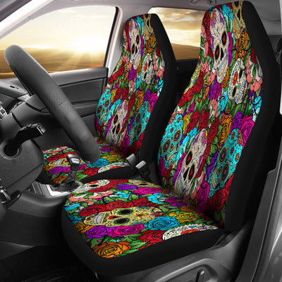 Sugar Skull Seat Covers