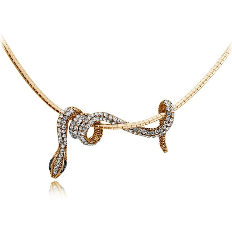 Pendant Necklaces - FREE-Snake Pendant Necklace