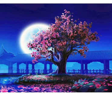 Romantic Moon Light Vinci™ Paint-By-Number Kit