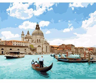 Venice Seascape Vinci™ Paint-By-Number Kit