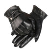 Feitong Fashion New 2017 Mens Luxurious Genuine Leather Winter Super Driving Warm Gloves Cashmere Keep Warm Short Gloves