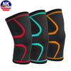 NK SUPPORT 1 PCS Fitness Running Cycling Knee Support Braces Elastic Knitting Sport Knee Pad Sleeve for Basketball Volleyball - Dropshipper US