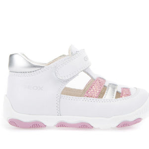 Geox B New Balu White Pink