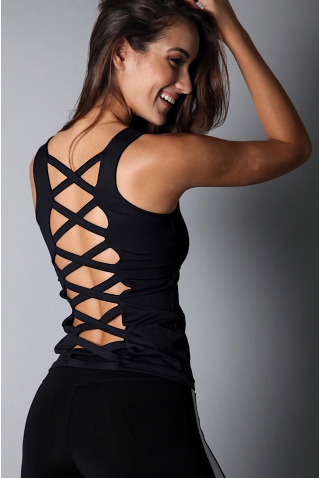 Equilibrium Black Long Top. DURABLE/ANTI-ABRASION WRINKLE FREE STRETCH-SHAPE RETAIN NON SHRINKING INNER COMPARTMENT HYPOALLERGENIC HARDWARE HAND MADE COMPONENTS FAST DRYING FABRIC: SUPPLEX ENHANCED OXYGENATION COMPRESSION: MEDIUM MOISTURE WICKING BREATHABLE FABRIC ANTI-ODER ANTI-MICROBIAL