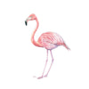 Pink Flamingo Wall Art