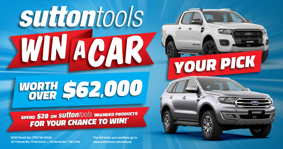 win a car with sutton tools
