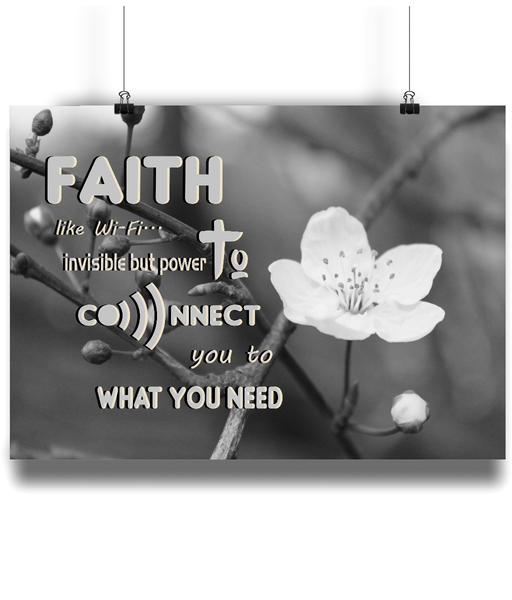 Faith Like Wifi - Connects you to God although invisible