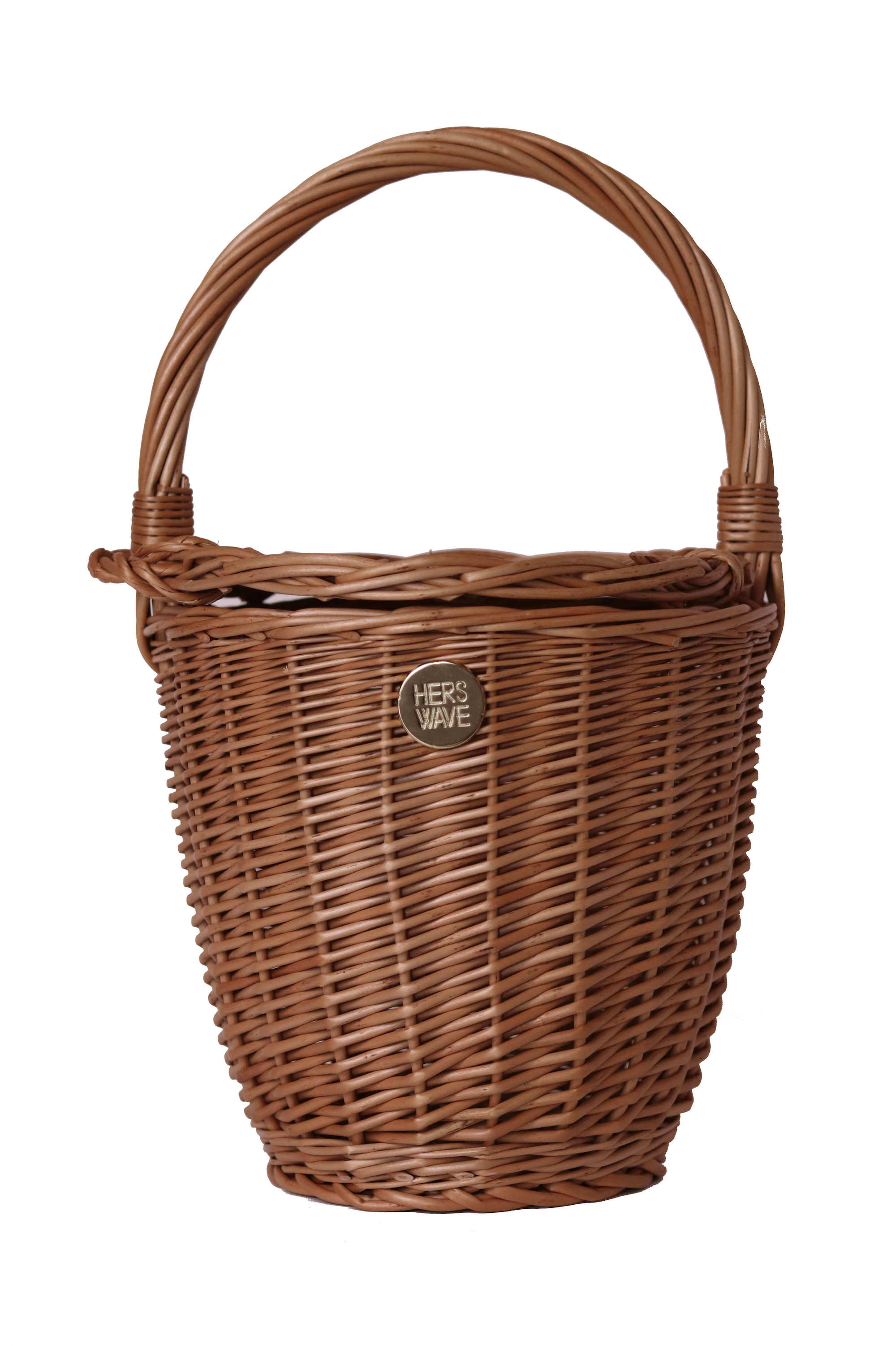 Hers Wave Handmade wicker straw bag basket summer beach accessory fashion