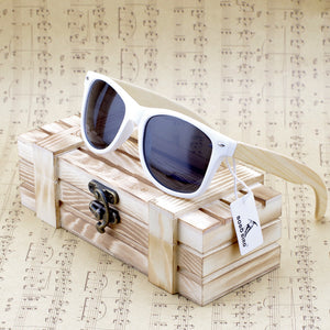 FlexEyez© Bamboo Sunglasses in a Box