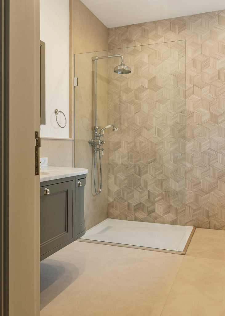 limestone persiano wall cladding shower wall